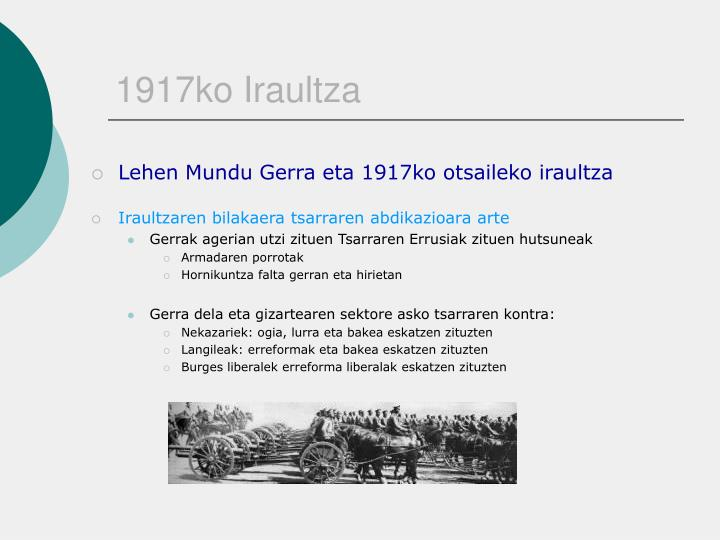 1917ko Iraultza