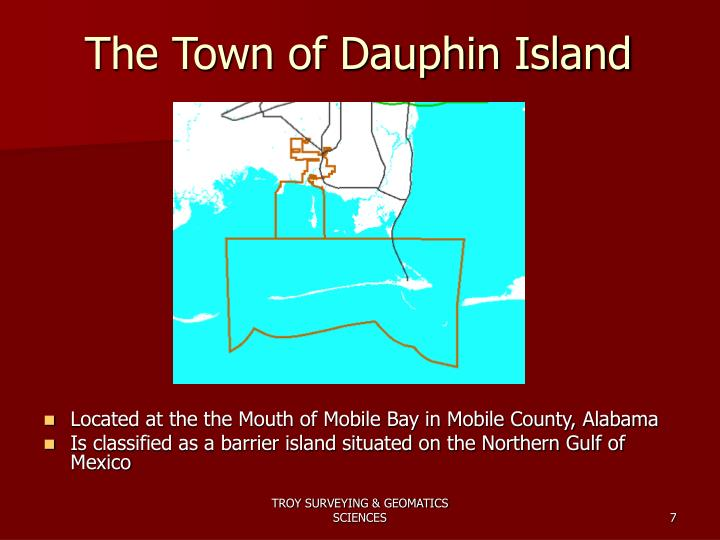 The Town of Dauphin Island