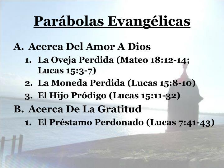 Parábolas Evangélicas