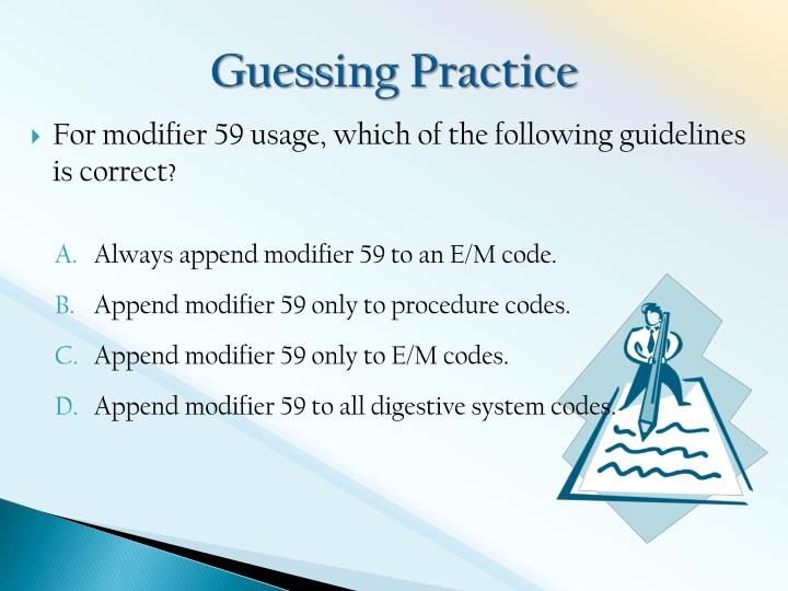 Guessing Practice