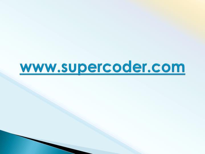 www.supercoder.com