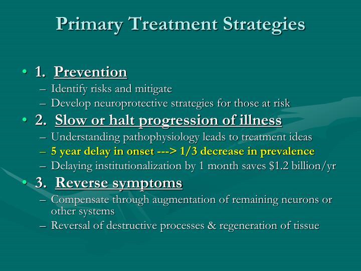 Primary Treatment Strategies