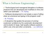 what is software engineering1
