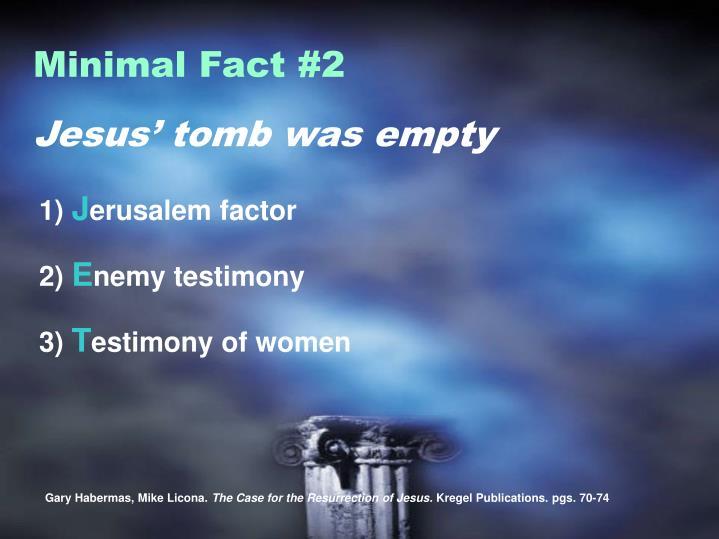 Minimal Fact #2