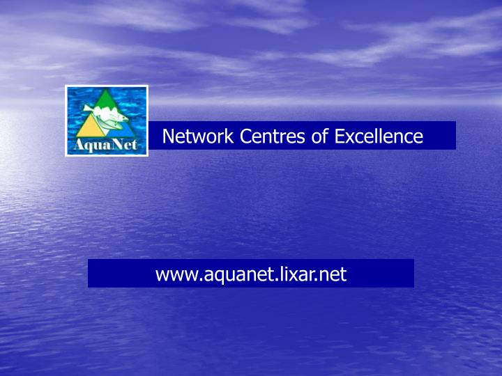 Network Centres of Excellence