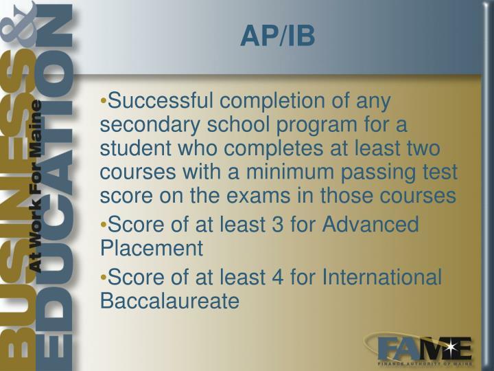 AP/IB