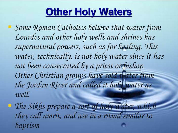 Other Holy Waters