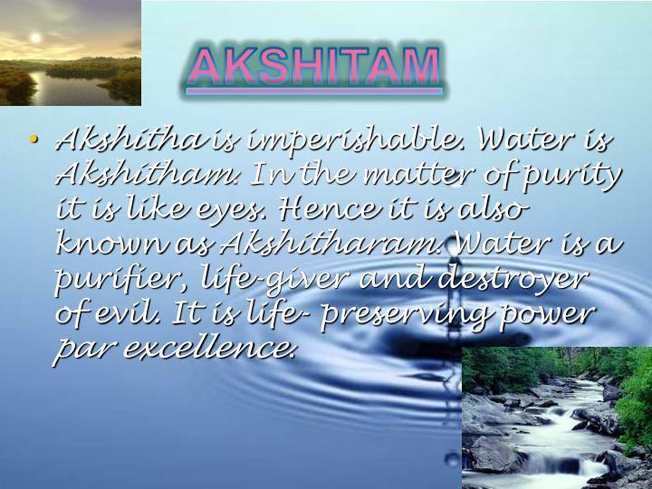 AKSHITAM