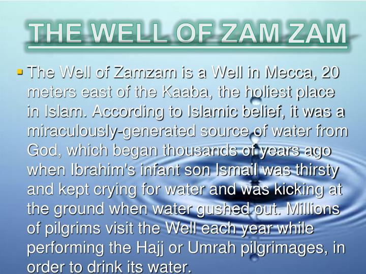THE WELL OF ZAM