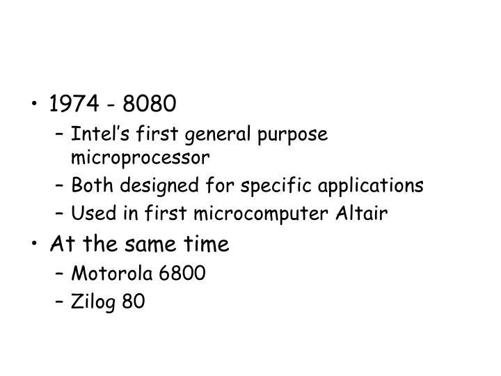 1974 - 8080