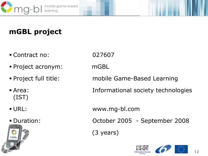 mGBL project