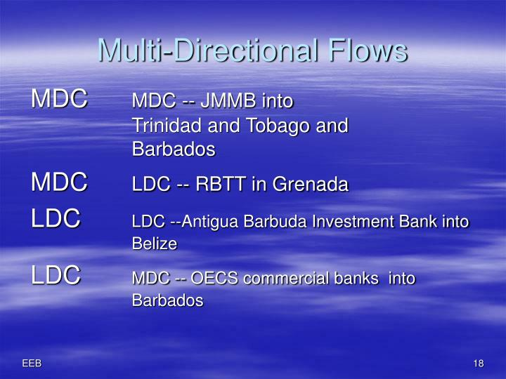 Multi-Directional Flows