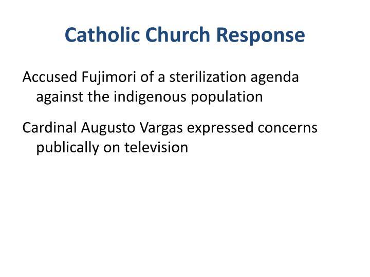 Catholic Church Response