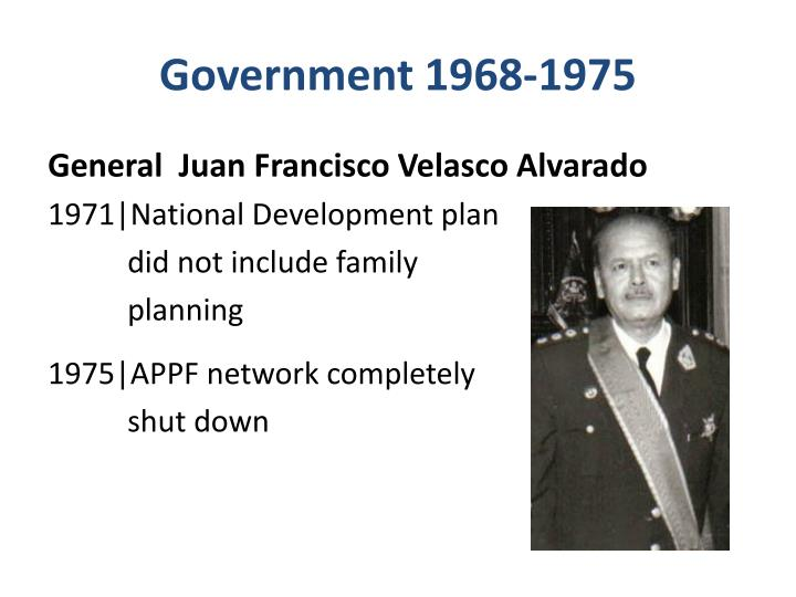 Government 1968-1975