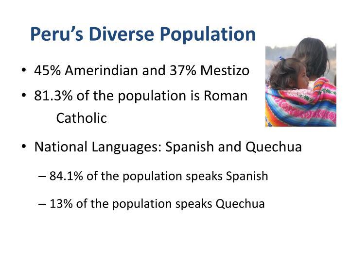 Peru's Diverse Population