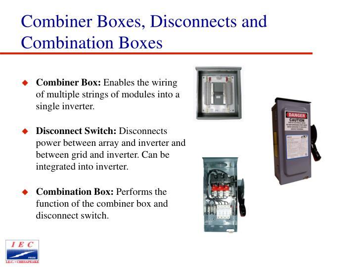 Combiner Box: