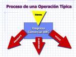 proceso de una operaci n t pica7