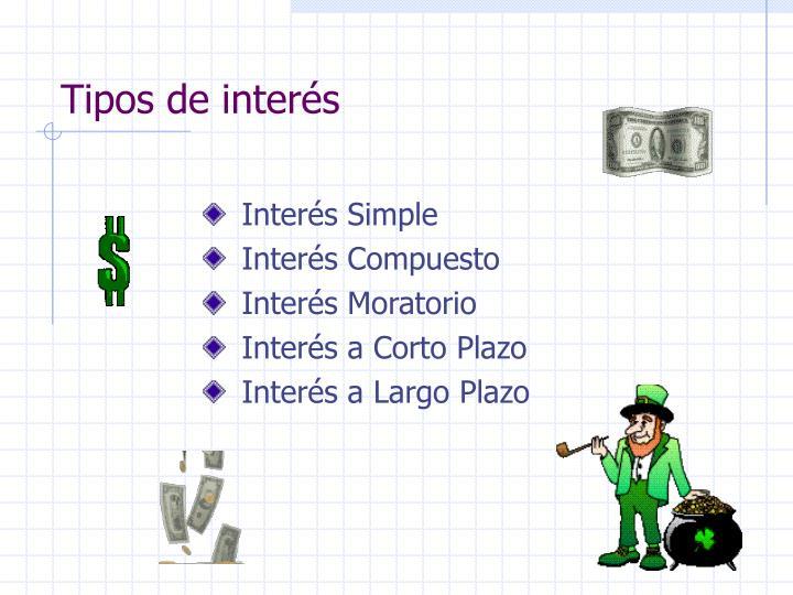 Tipos de interés