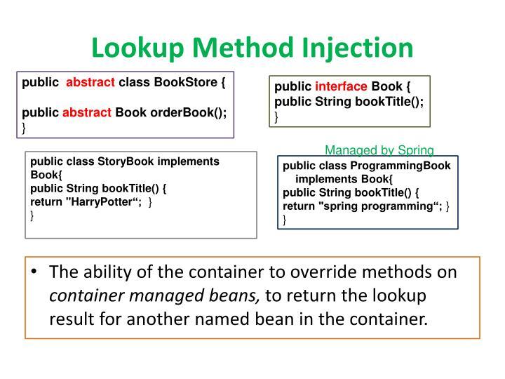 Lookup Method Injection
