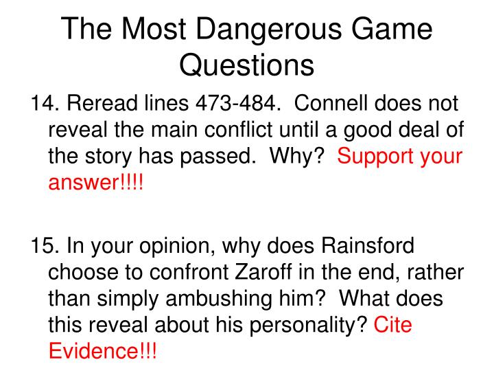 the a good number of perilous video game questions