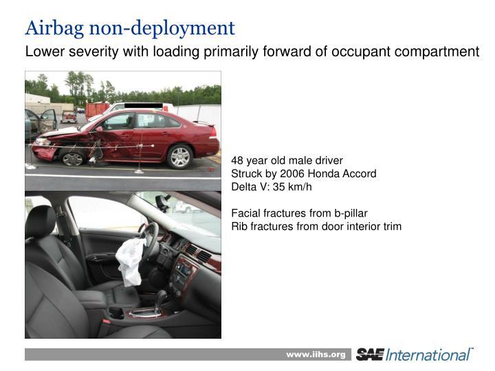 Airbag non-deployment