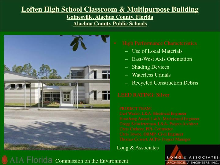 Loften High School Classroom & Multipurpose Building