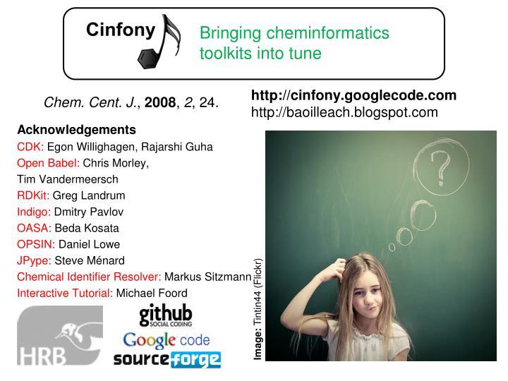 Chem. Cent. J.