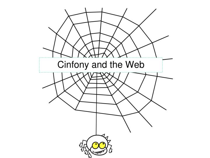 Cinfony and the Web