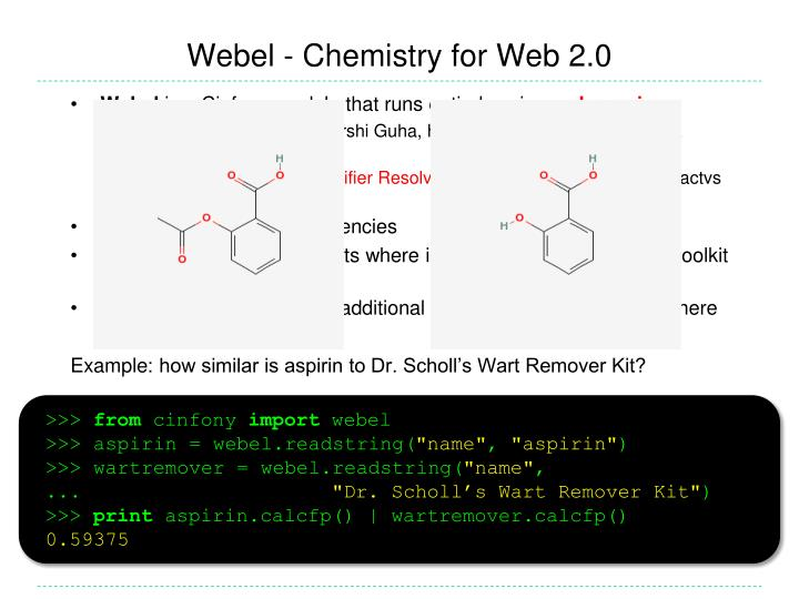 Webel - Chemistry for Web 2.0