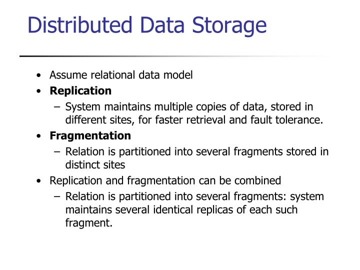 Assume relational data model