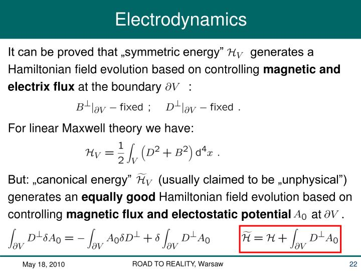 "It can be proved that ""symmetric energy""        generates a"