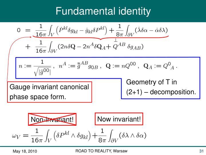 Geometry of T in