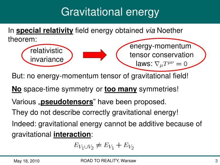 energy-momentum