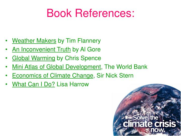 Book References: