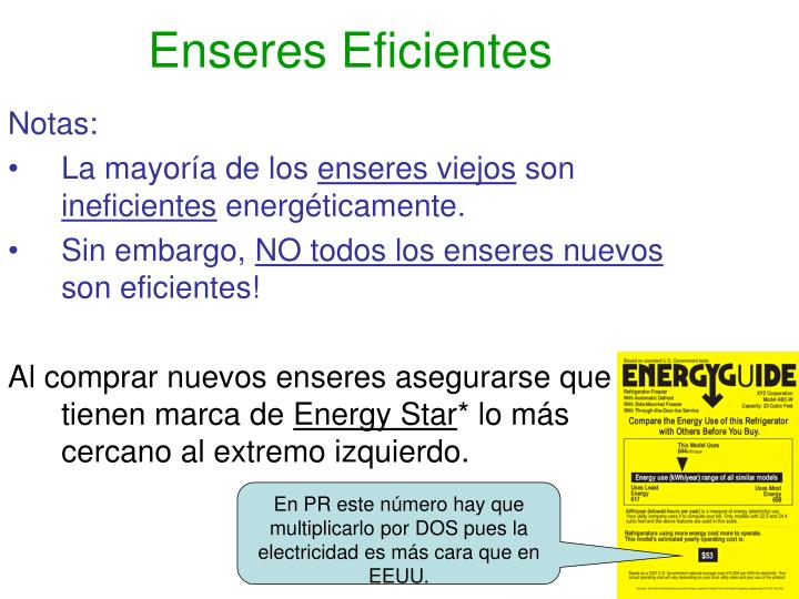 Enseres Eficientes