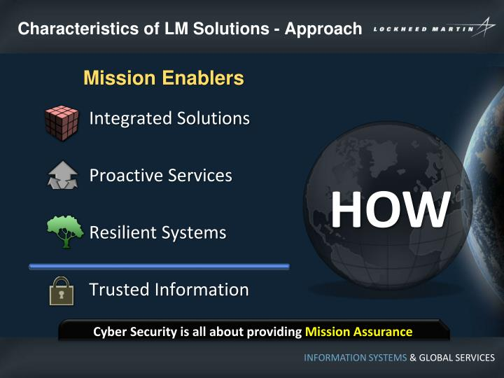 Characteristics of LM Solutions - Approach