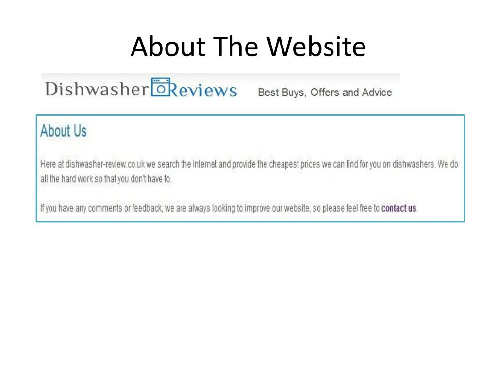 About The Website