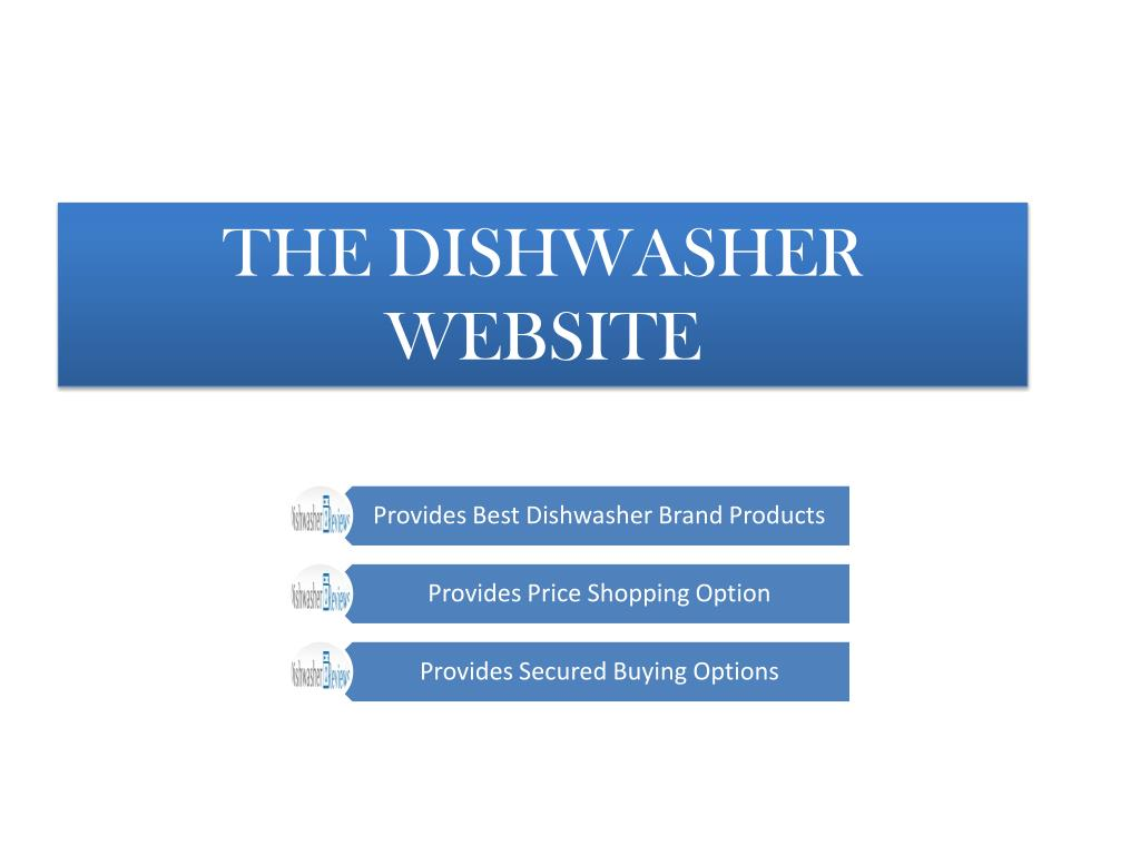 THE DISHWASHER WEBSITE