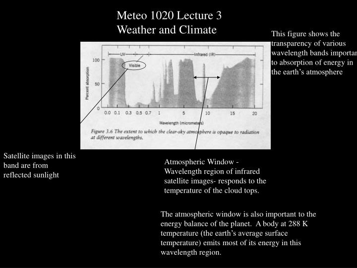 Meteo 1020 Lecture 3