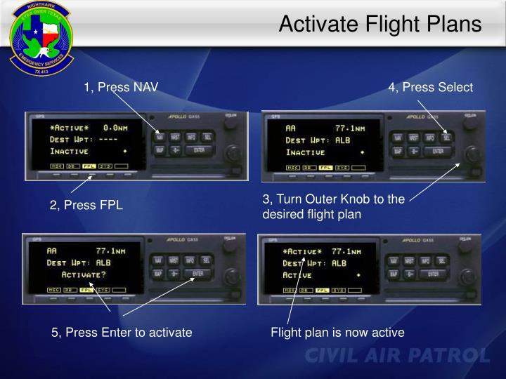 Activate Flight Plans