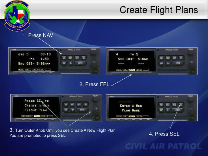 Create Flight Plans