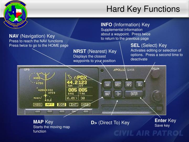 Hard Key Functions