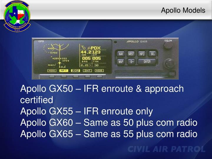 Apollo Models