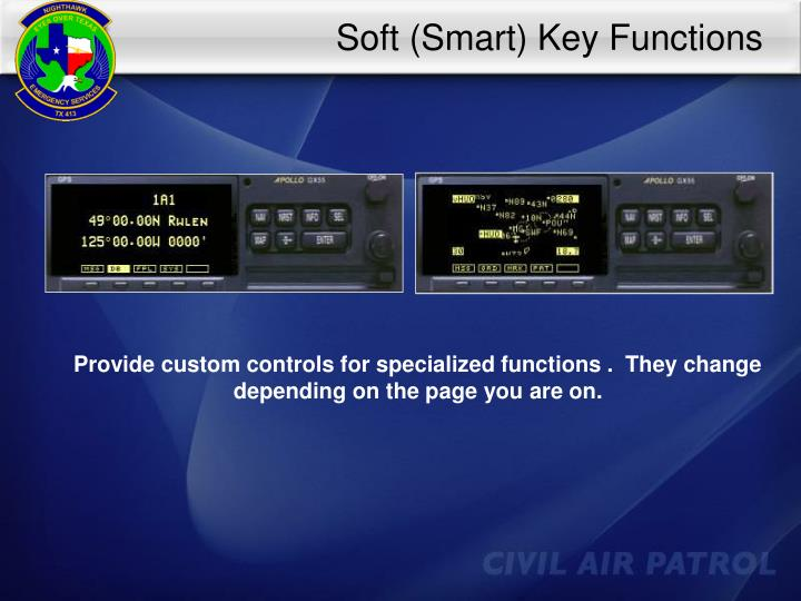 Soft (Smart) Key Functions