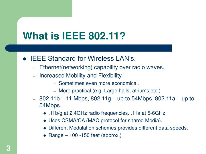 What is ieee 802 11