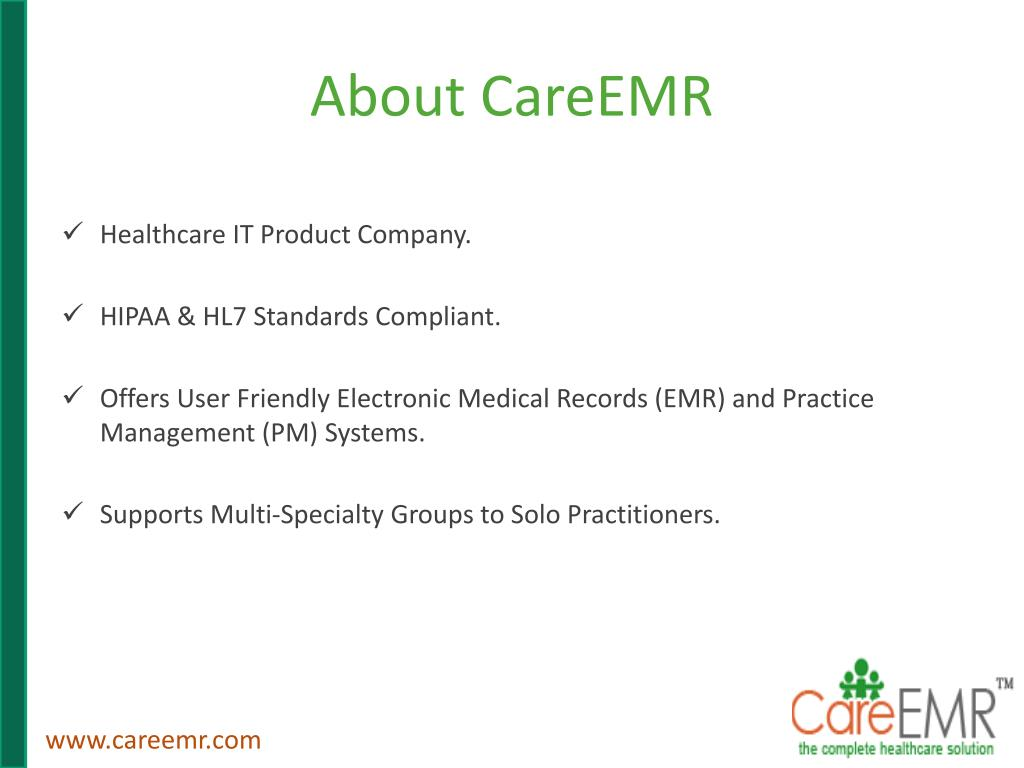 About CareEMR