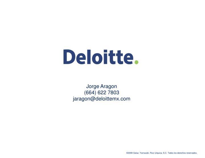 Jorge Aragon