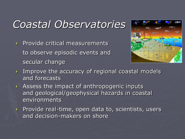 Coastal Observatories