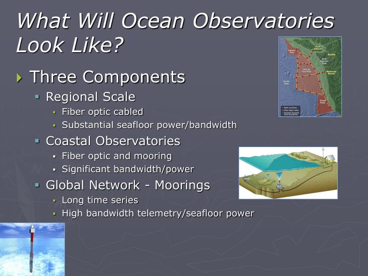 What Will Ocean Observatories Look Like?