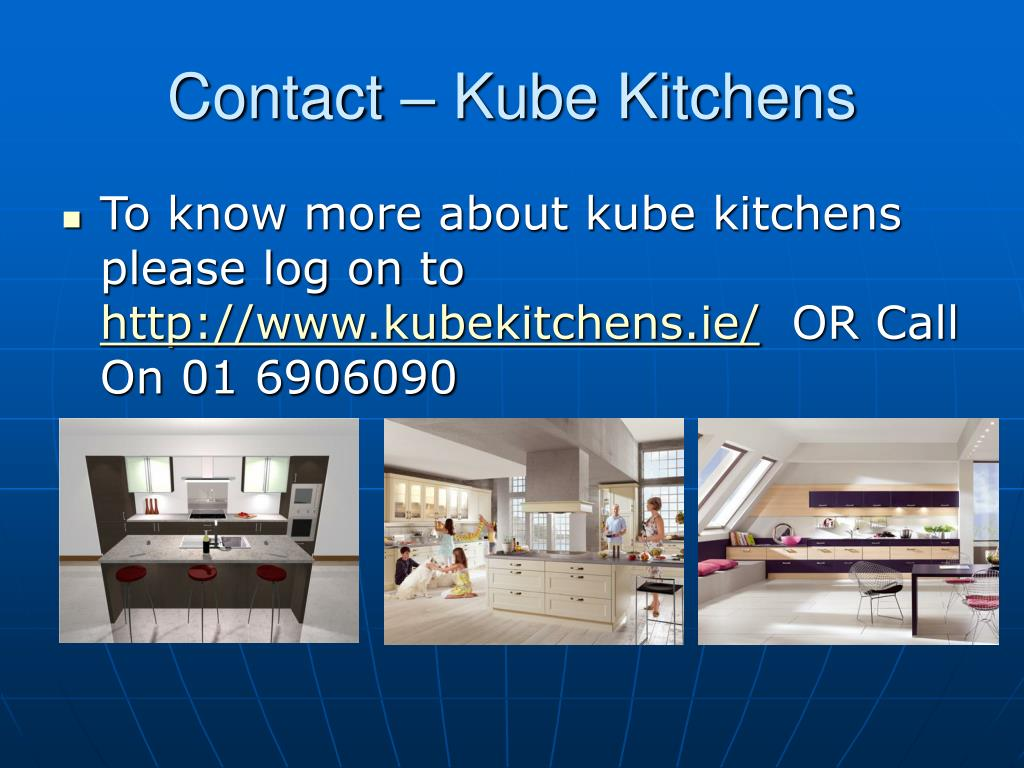 Contact – Kube Kitchens